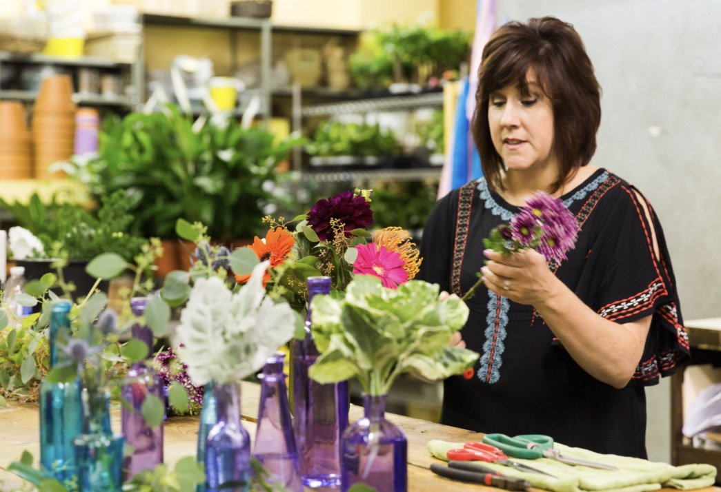 Our First Marketfresh Bouquet Class