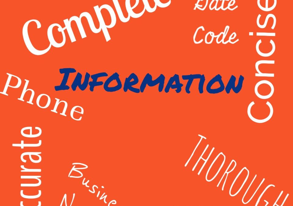 Information Is Our Friend