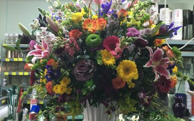 Behind The Scenes Look At Creating A Floral Masterpiece