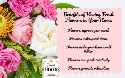 Five Benefits Of Having Fresh Flowers In Your Home